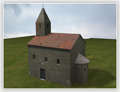 Church in Drážovce - Visualizations